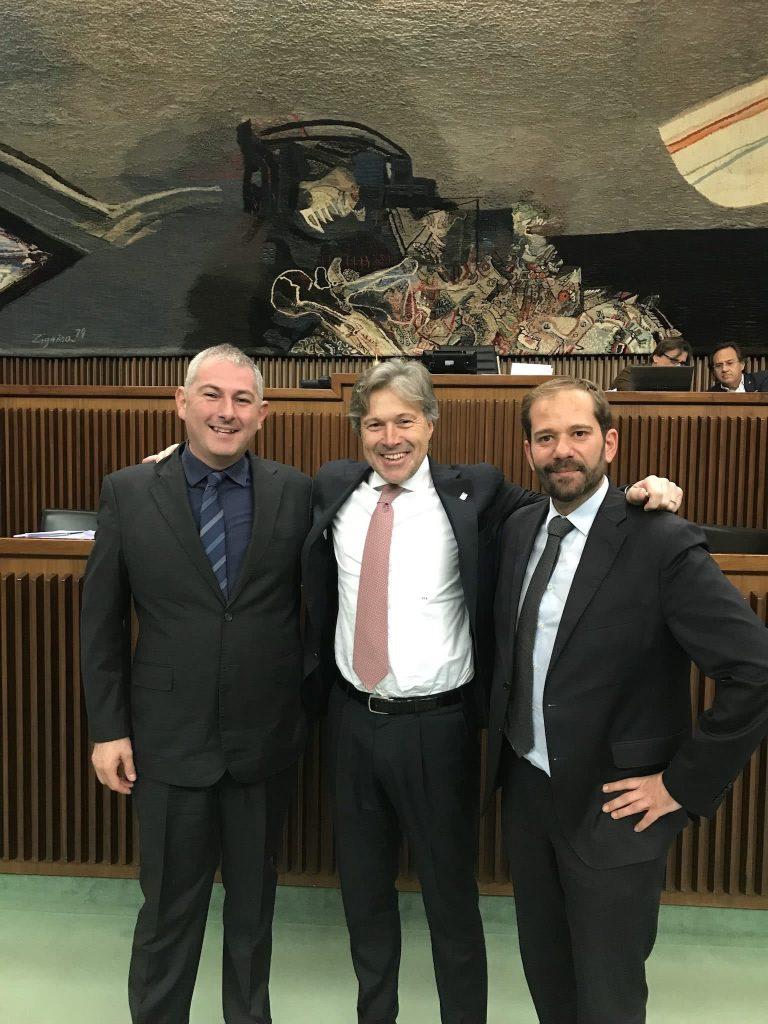 Alessandro Basso, Sergio Emidio Bini, Claudio Giacomelli