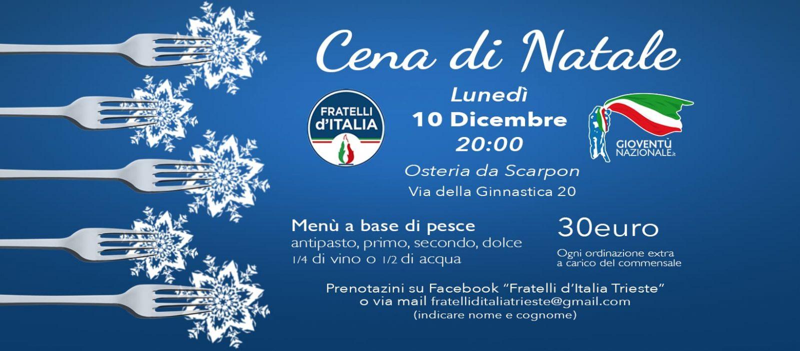 Cena di Natale 2018 @ Osteria de Scarpon | Trieste | Friuli-Venezia Giulia | Italia