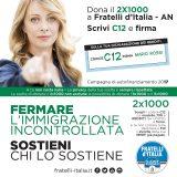 Fratelli Italia 2x1000