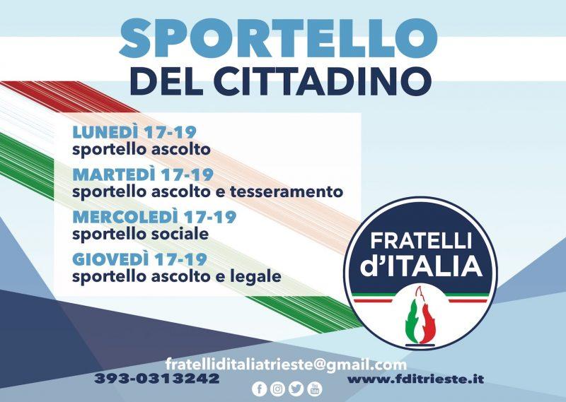 Sportello del cittadino Fratelli d'Italia