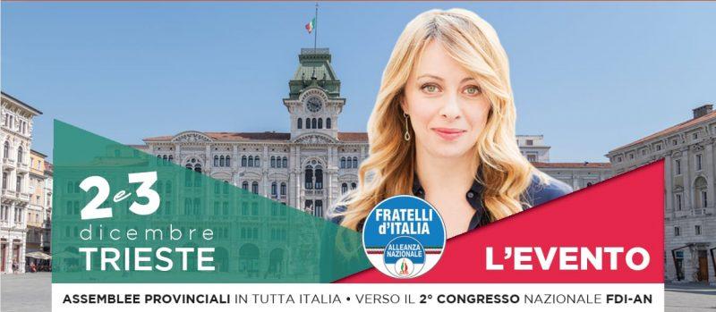 Congresso nazionale 2017 Fratelli d'Italia