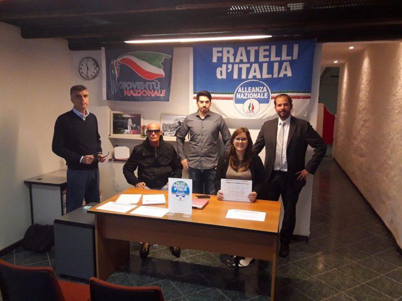 inaugurazione sportello cittadino Fratelli d'Italia Trieste
